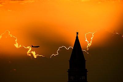 Sonnenuntergang Venedig - p1493m1584723 von Alexander Mertsch