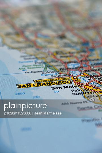 San Francisco, California, USA - p1028m1525686 von Jean Marmeisse