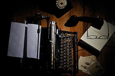 Arbeitsplatz eines Schriftstellers - p8290101 von Régis Domergue
