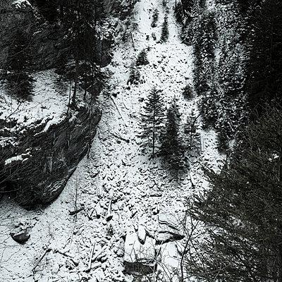 Switzerland, Gorge, Via Mala - p230m2152680 by Peter Franck