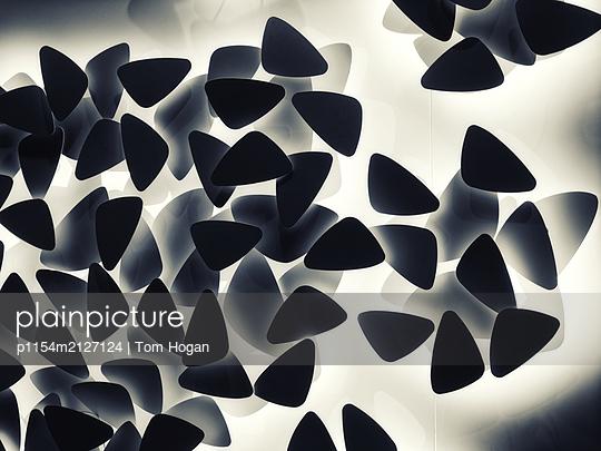 Guitar Pick shapes - p1154m2127124 by Tom Hogan