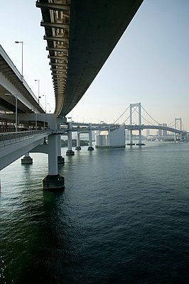 Bridge towards Tokyo - p3882016 by L.B.Jeffries
