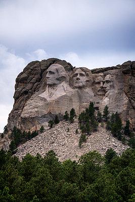 Mount Rushmore National Memorial - p1154m1217557 von Tom Hogan