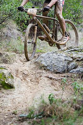 Mountain biking - p335m800696 by Andreas Körner