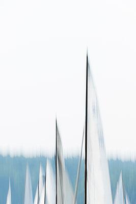 Segelboote auf der Havel - p739m1152837 von Baertels