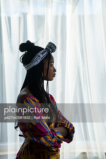 Young african woman - p427m2081832 by R. Mohr