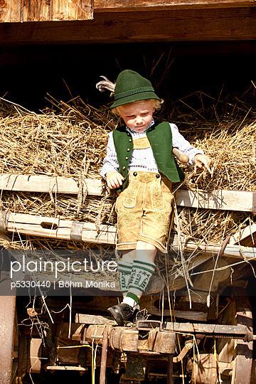 Kindheit auf dem Land - p5330440 von Böhm Monika