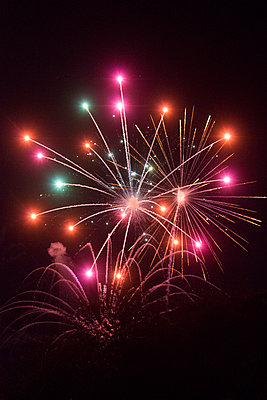 Fireworks - p1169m1463412 by Tytia Habing
