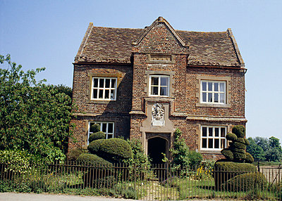 Converted school building, Little Thurlow, Suffolk. 1614 - p8551809 by Philippa Lewis