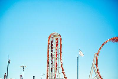 Loopingbahn auf Coney Island - p432m1176830 von mia takahara