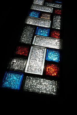 Glass blocks - p1523m2082458 by Nic Fey