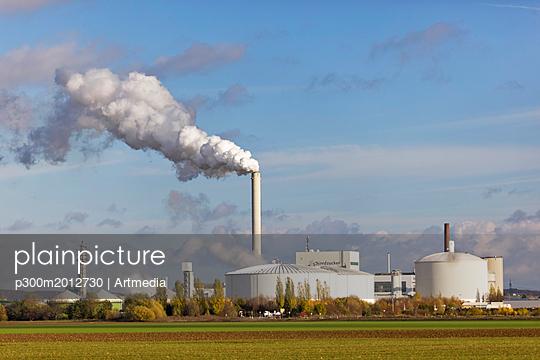 Germany, Lower Saxony, Nordstemmen, Industrial plant Nordzucker - p300m2012730 von Artmedia