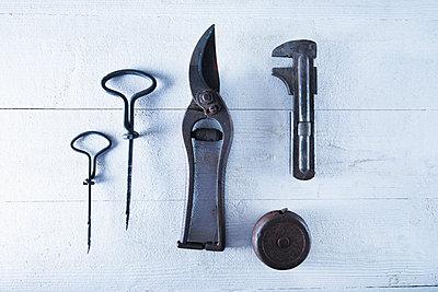 Nostalgic tools - p1149m2026222 by Yvonne Röder
