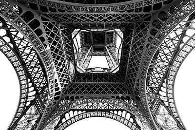Eiffel Tower Web - p1154m2203449 by Tom Hogan