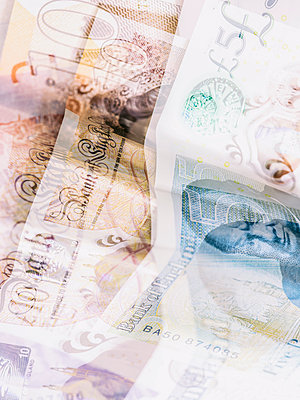 GBP notes - p401m2179219 by Frank Baquet