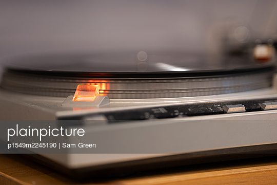 Record player - p1549m2245190 by Sam Green