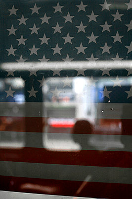 Stars and Stripes - p1028m769977 by Jean Marmeisse