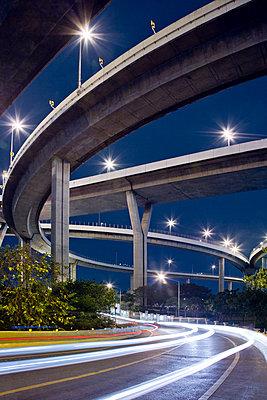 Brücke in Bangkok - p1032m1220664 von Fuercho