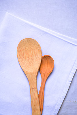 Wooden spoons - p1149m2291314 by Yvonne Röder
