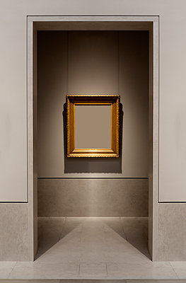 Empty Picture frame - p1280m1222466 by Dave Wall