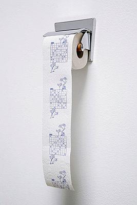 Toilettenpapier Sudoku - p2370582 von Thordis Rüggeberg