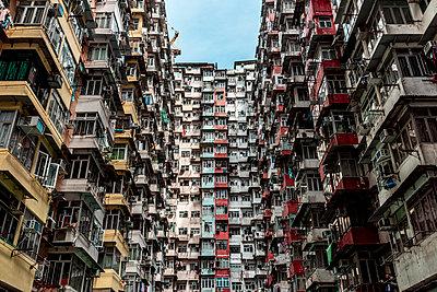 Hong Kong, Quarry Bay, apartment blocks - p300m2069703 by Daniel Waschnig Photography