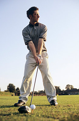 Golfspieler - p3050066 von Dirk Morla