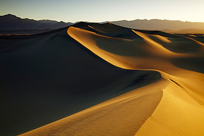 Mesquite Dunes, Stovepipe Wells, Death Valley National Park, California, USA - p651m2007109 by Tom Mackie