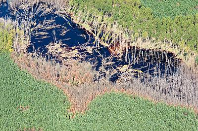 Erdrutsch als Folge vom Braunkohlentagebau - p1079m1042151 von Ulrich Mertens