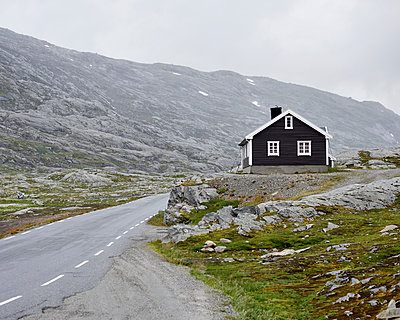 Norwegian hut - p1124m933546 by Willing-Holtz
