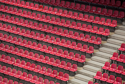Red seating - p363m851870 by Thomas Victor