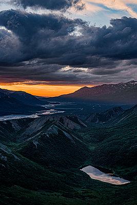 Grandiose Aussicht in der Alaskakette - p1455m2204813 von Ingmar Wein