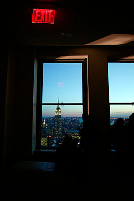 View onto Empire State Building - p3882066 by L.B.Jeffries