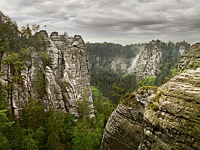 Elbe Sandstone Mountains - p9180089 by Dirk Fellenberg