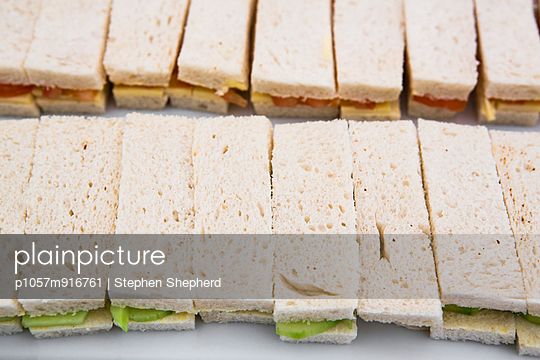 Sandwiches - p1057m916761 by Stephen Shepherd