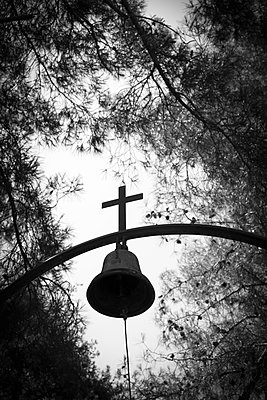 Church bell in the forest - p1580m2214958 by Andrea Christofi