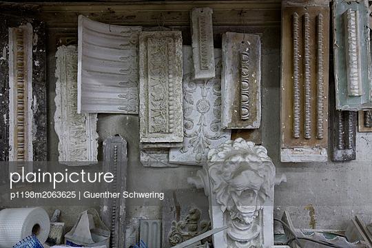 Alte Stuckwerkstatt - p1198m2063625 von Guenther Schwering