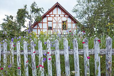 Romantic old house - p719m2288042 by Rudi Sebastian