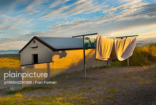 greenland twilight - p1693m2291268 by Fran Forman