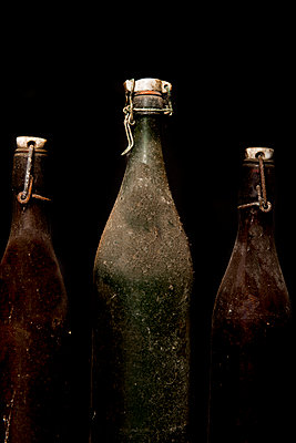 Old dirty bottles - p451m987494 by Anja Weber-Decker