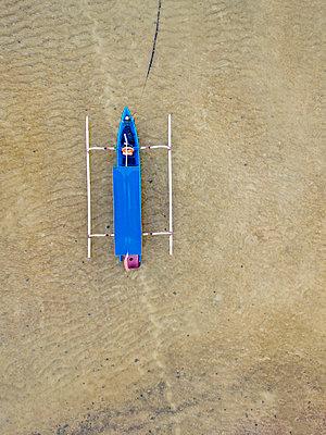Indonesien, Bali, Sanur, Auslegerboot - p1108m2181698 von trubavin