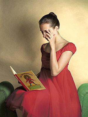 Struwwelpeter auf der Couch - p1376m1573726 von Melanie Haberkorn