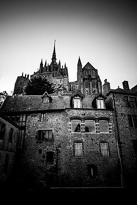 Altes Haus Mont Saint-Michel - p248m1516164 von BY