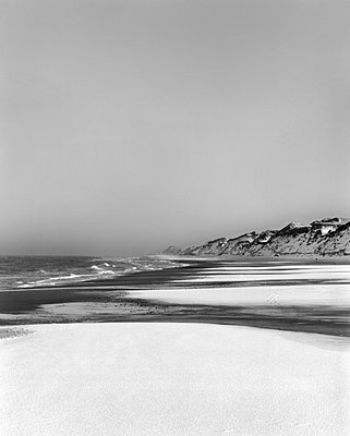 A beach in the winter - p312m696053 by Bruno Ehrs