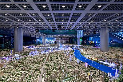 Shanghai Urban Planning Exhibition Center - p1558m2132808 by Luca Casonato