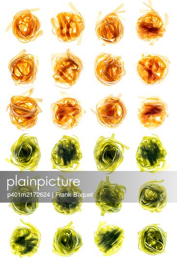 Ribbon noodles - p401m2172624 by Frank Baquet