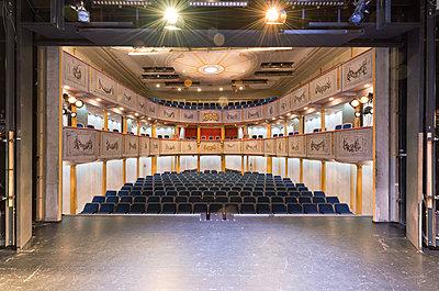 Schloßtheater - p1119m1355476 von O. Mahlstedt