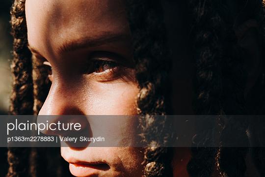 Portrait of a girl - p1363m2278883 by Valery Skurydin