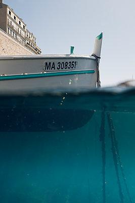 Moored boat - p1290m1169426 by Fabien Courtitarat