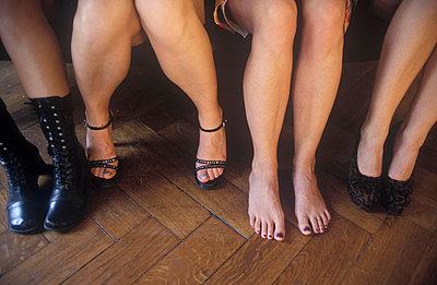 Frauenbeine - p2600038 von Frank Dan Hofacker